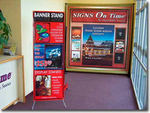 Tradeshow and Interior Booth Signs